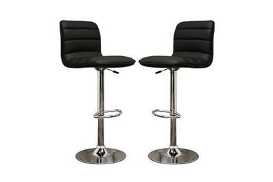 Super Lyris Black Faux Leather Modern Bar Stool Affordable Andrewgaddart Wooden Chair Designs For Living Room Andrewgaddartcom