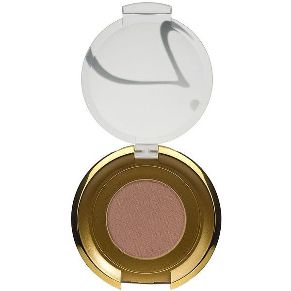 Jane Iredale PurePressed Single Eye Shadow, Taupe 1 ea ($22) ❤ liked on Polyvore featuring beauty products, makeup, eye makeup, eyeshadow, jane iredale eyeshadow, jane iredale eye shadow and jane iredale