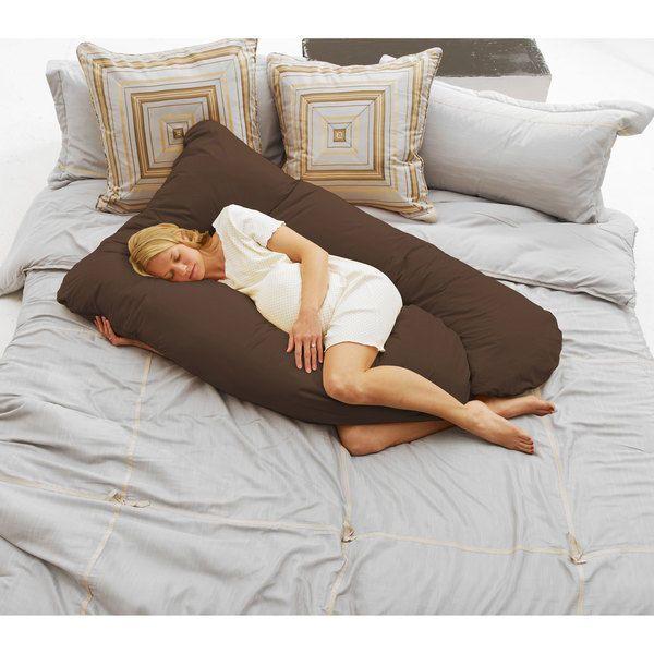 Maternity Body Pillow Full Pregnancy Belly Bed Cushion Throw Boppy