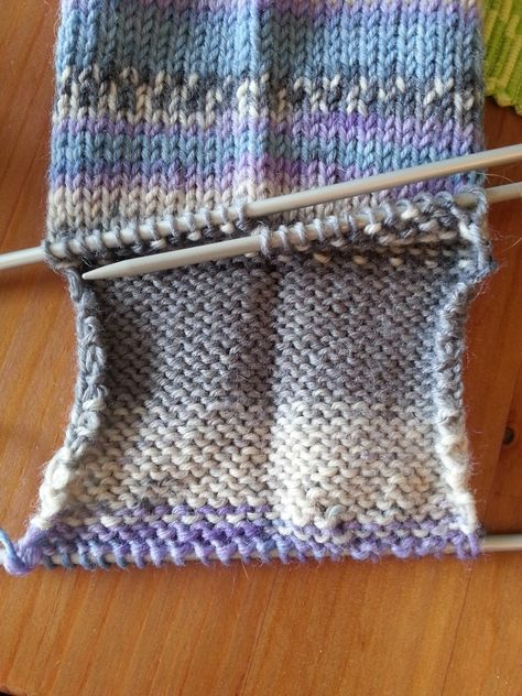 Photo of Summer is, for me, typically knitting socks time. It's a small, easy job …