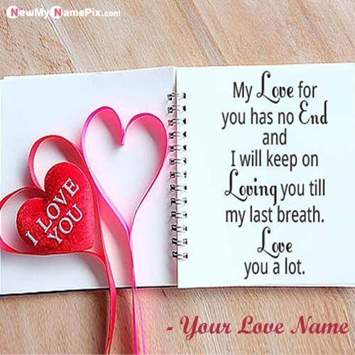 Beautiful Love Proposal Cute Note With Name Pictures