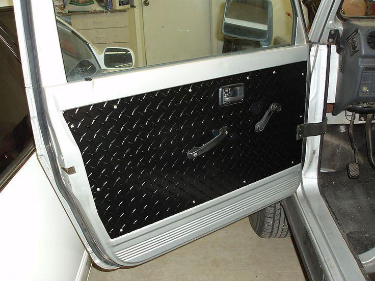 Suzuki Samurai Black Front Door Panels Set Of 2 Suzuki Samurai Panel Doors Custom Car Interior