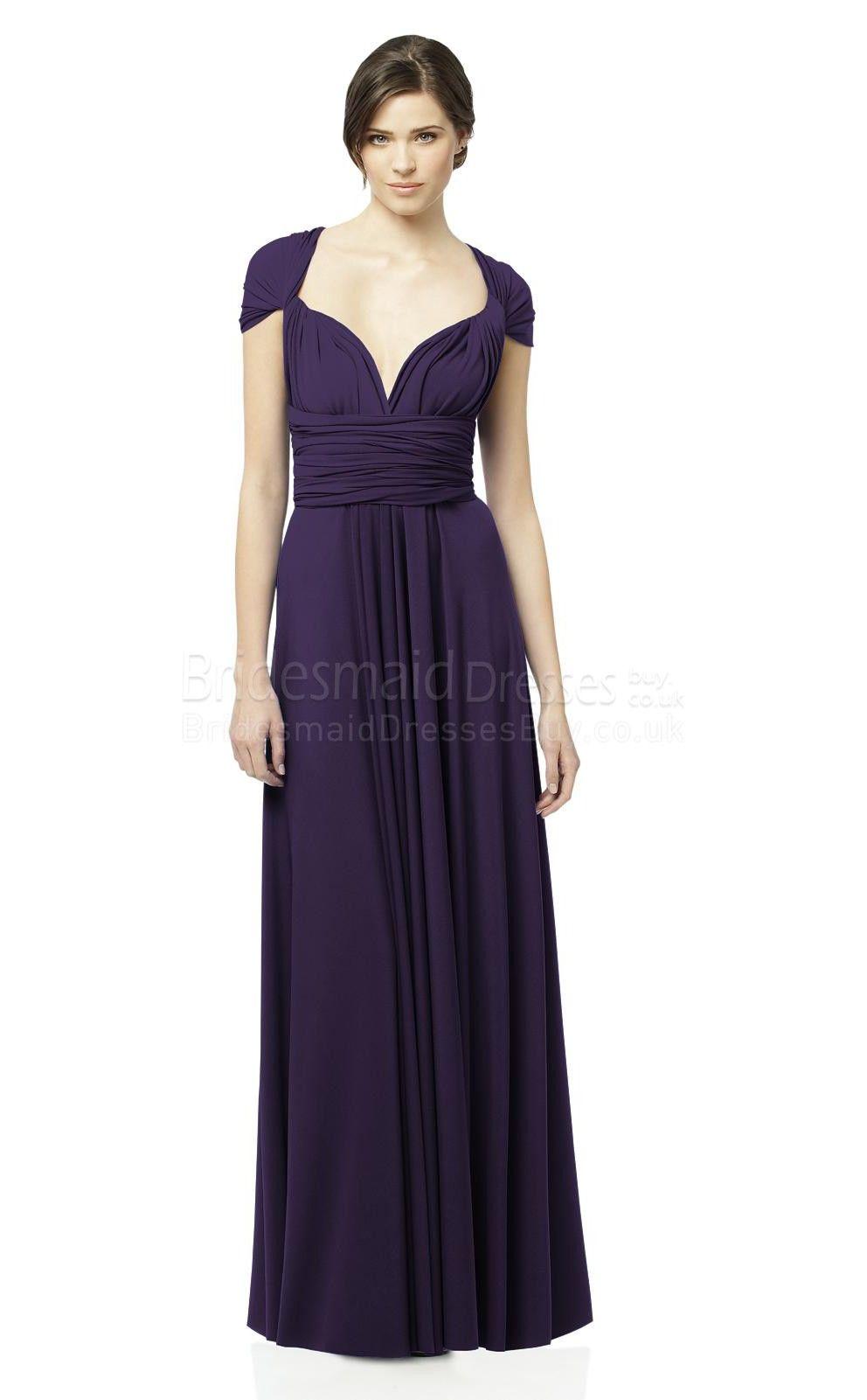Aline purple bridesmaid dresseslong purple bridesmaid dresses