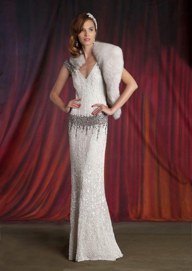 Mi Wedding Diario: Vestidos de Novia de Estilo Gran Gatsby ...