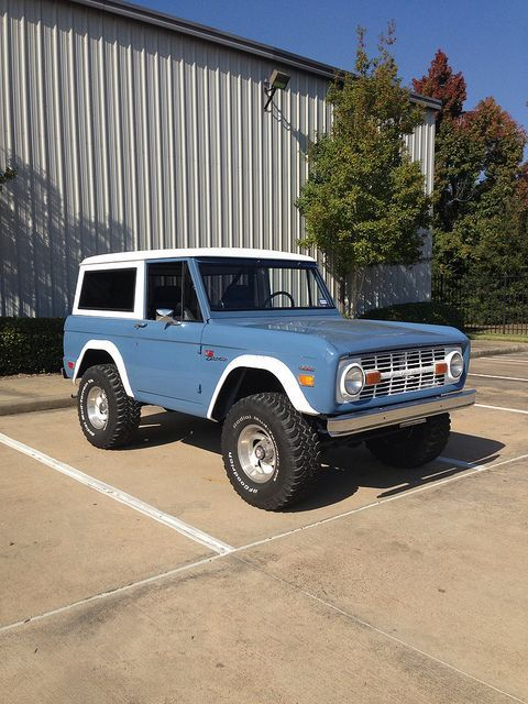 Classic Ford Bronco | AllCollectorCars.com