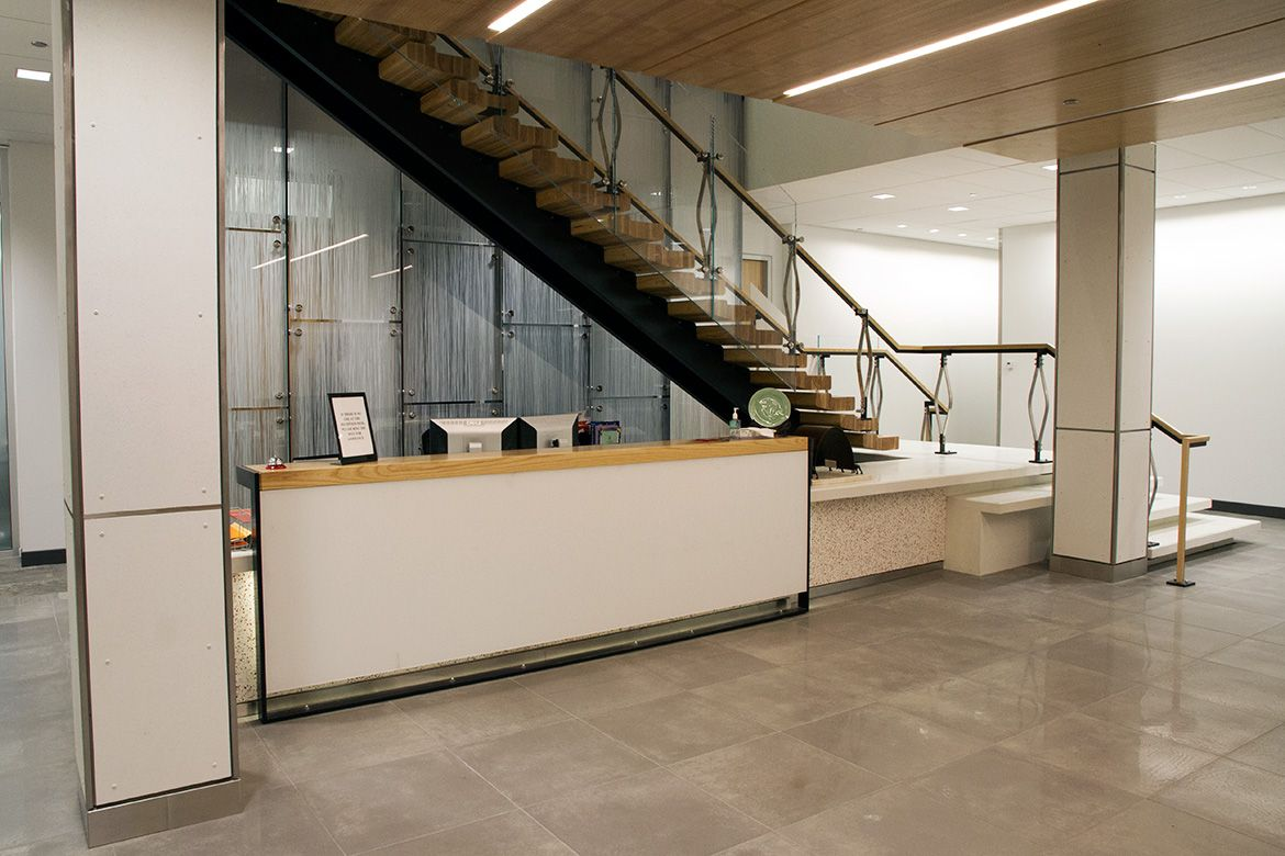 Best Image Result For Reception Area Under Stairwell 400 x 300