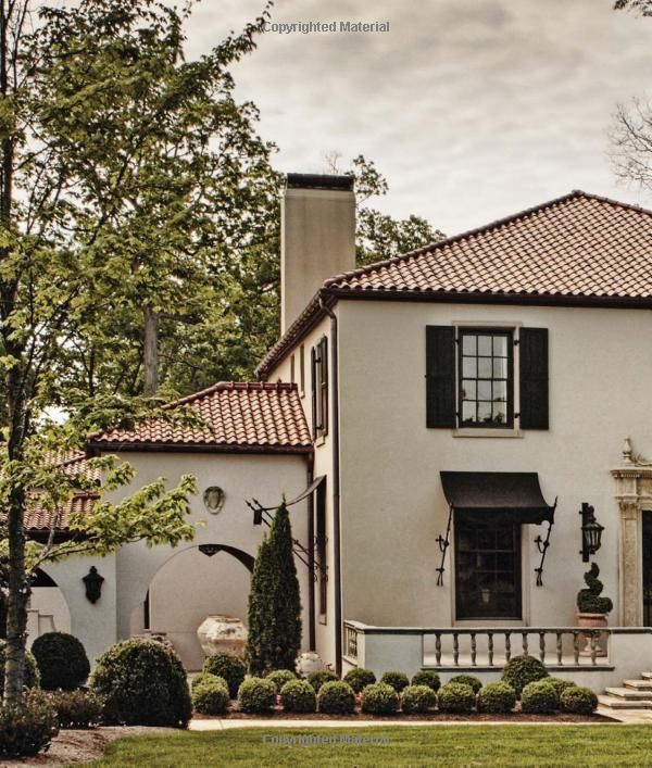 Spanish Style Houses Exterior: Pin By Eddy Harte On Awnings