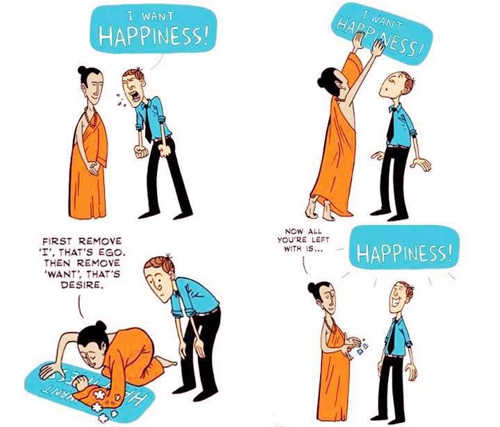 How to be happy.. simplified