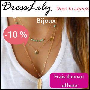#missbonreduction; 10% de remise et livraison gratuite sur les Bijoux sur DressLily. http://www.miss-bon-reduction.fr//details-bon-reduction-DressLily-i859249-c1825902.html