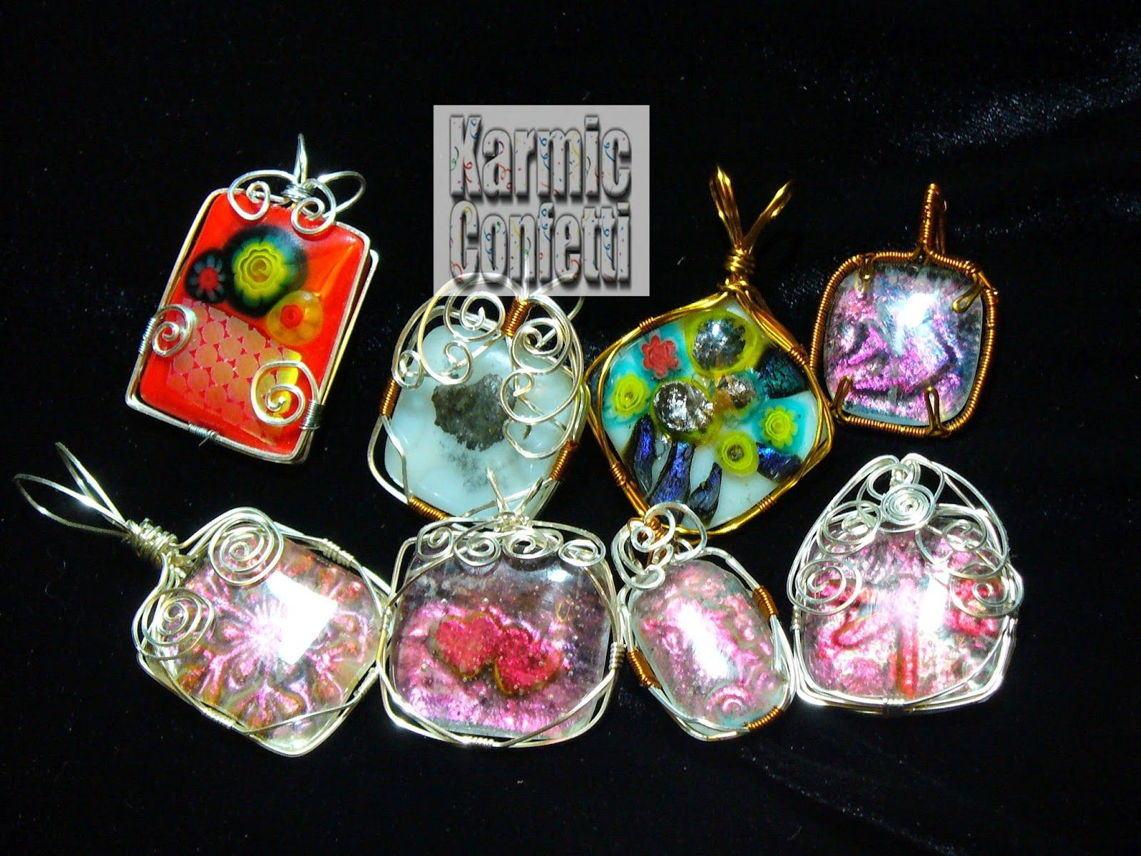 Karmic Confetti Microwave Kiln And Gl Fusing
