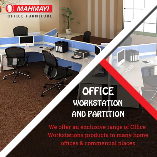 Office furniture stores in Dubai like Mahmayi where furniture is