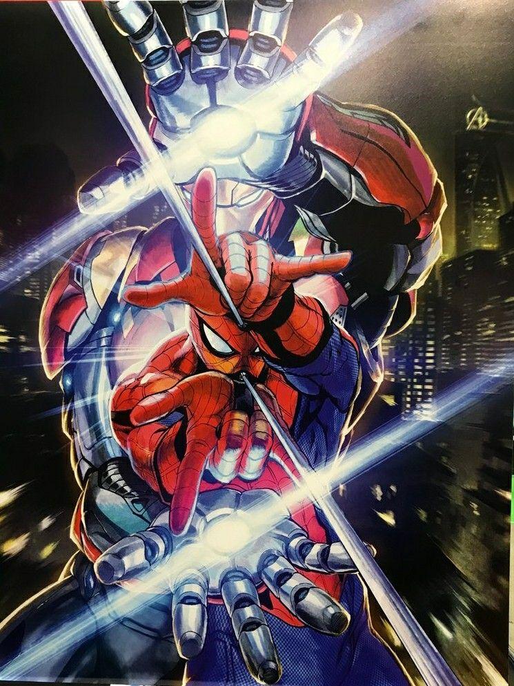 Yusuke Murata Spider-Man Far From Home