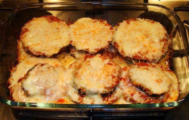 Eggplant Parmesan (Weight Watchers)