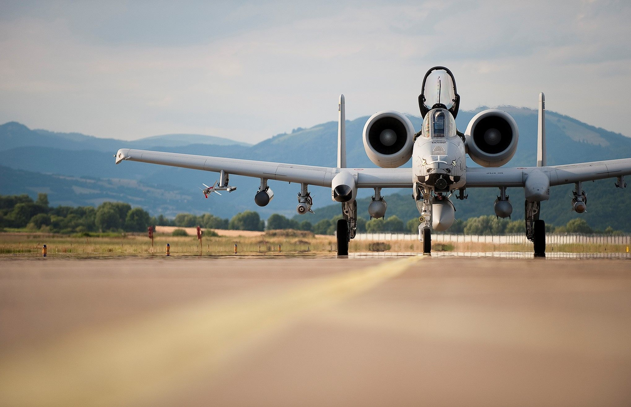An A10 Thunderbolt II from the 122nd Fighter Wing, Fort