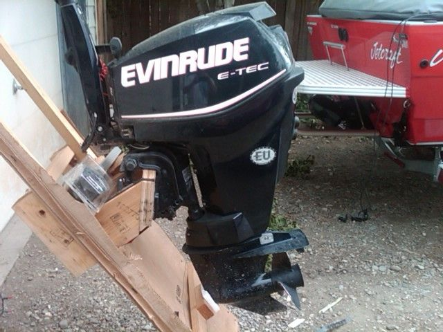 Evinrude outboards brand evinrude etec 25hp outboard new for Evinrude 40 hp outboard motor for sale