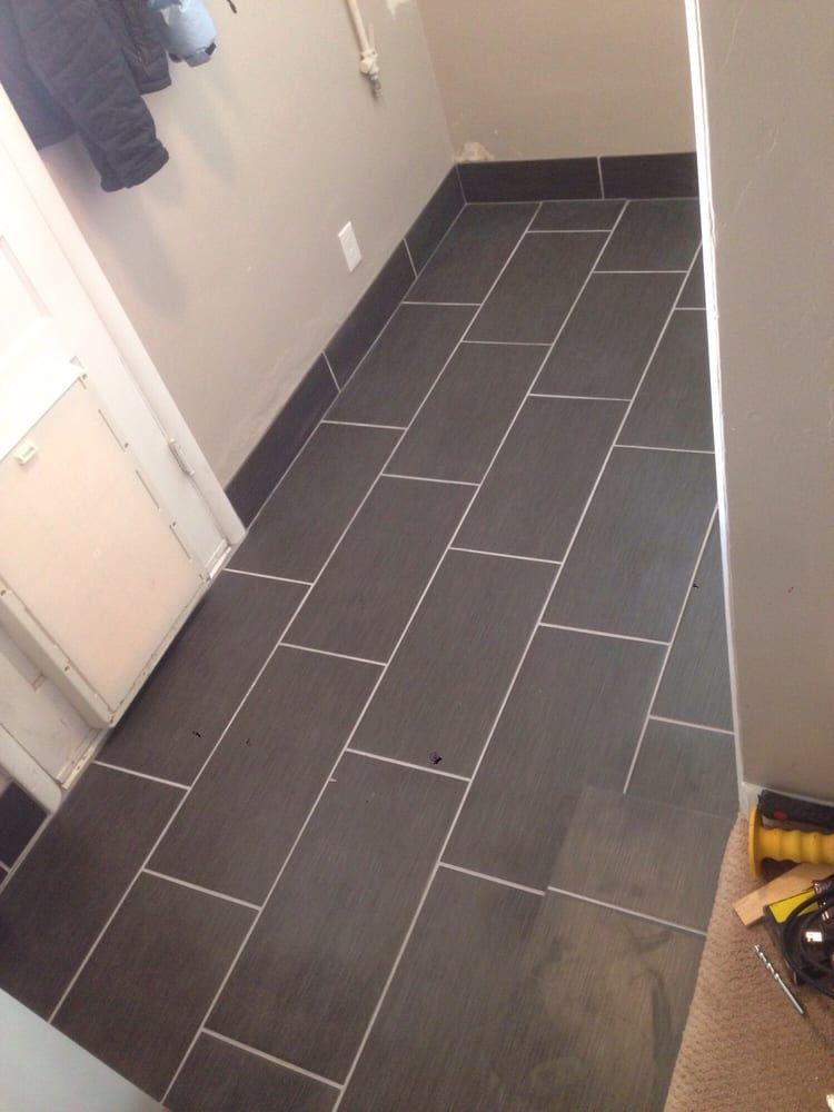 Tile Floor Board For The Bathroom Laundry Room Is A Good Idea