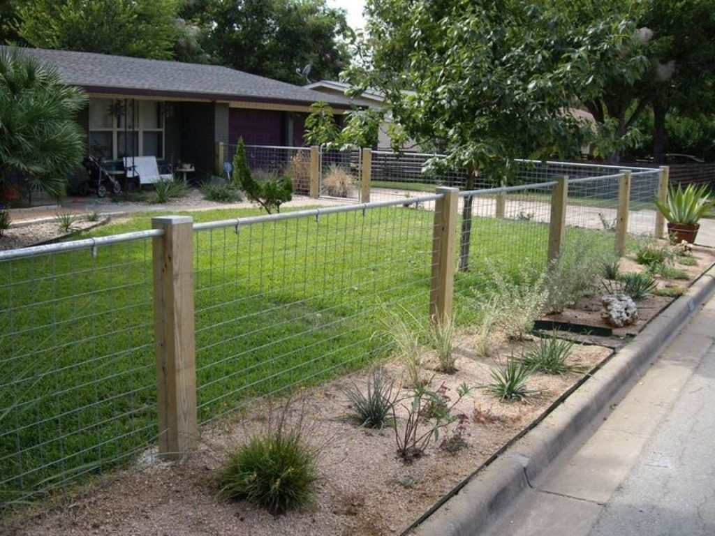 Hog Wire Fence Panels Tractor Supply Fence Ideas Best Hog Wire With Regard To Hog Fence Panels Hog Fence Panel Backyard Fences Fence Options House Fence Design