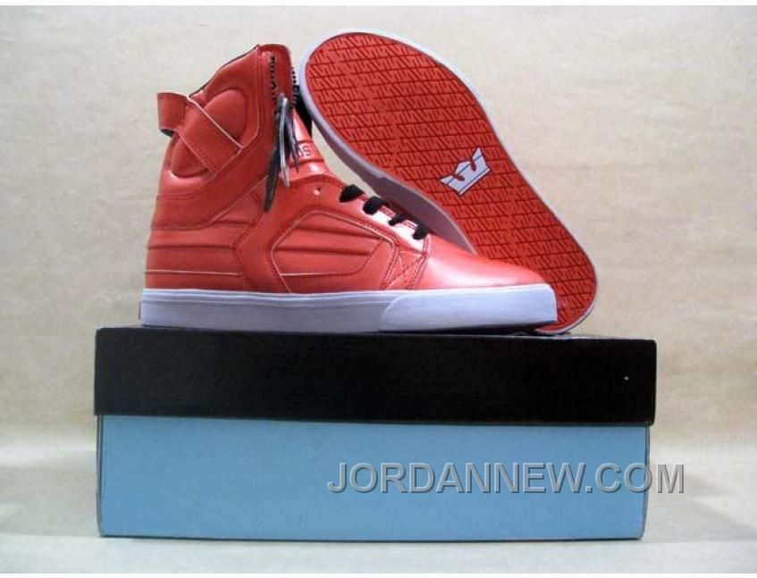 Supra Skytop II 2 Red Patent White Authentic, Price: $58.35 - Air Jordan  Shoes, Michael Jordan Shoes