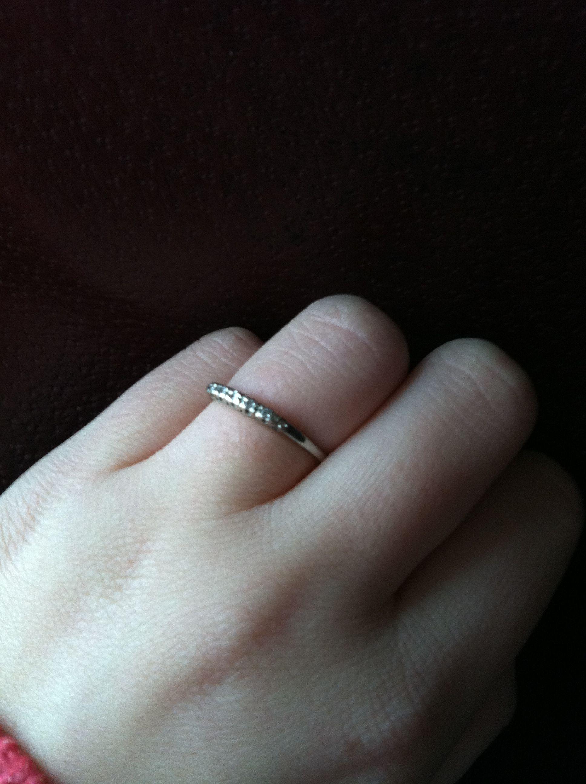 My ring is so cute