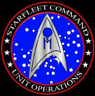 Starfleet Command Unit Operations Division Crest