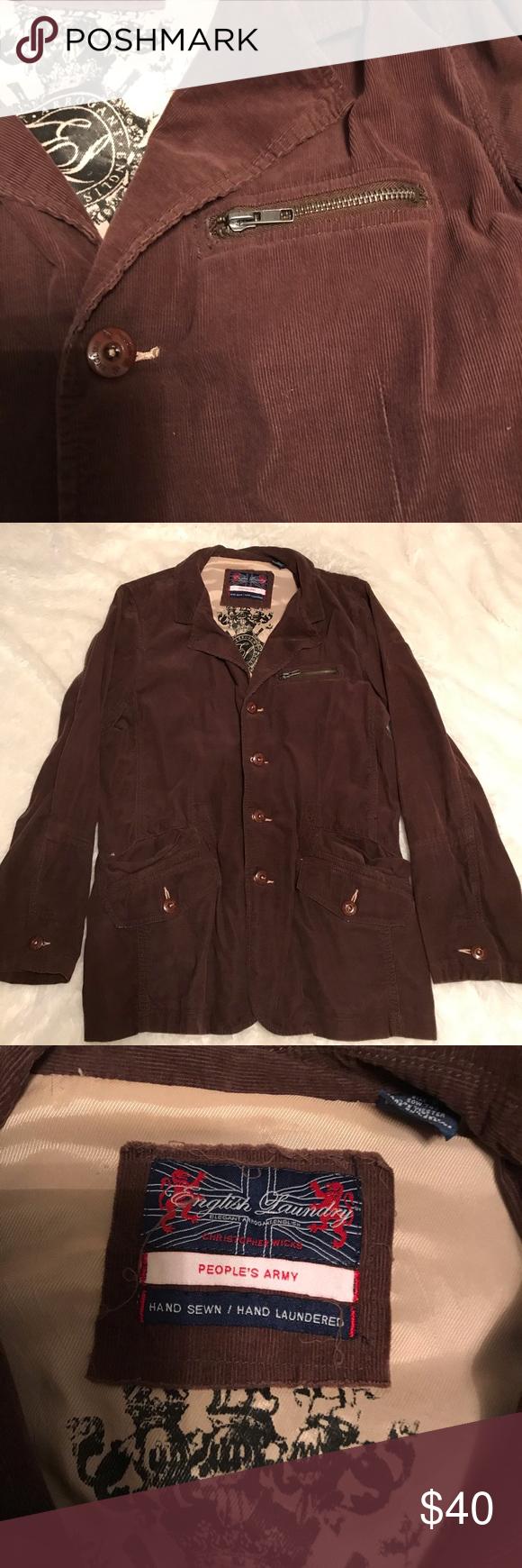 Vintage Mens English Laundry Jacket Laundry Jackets Fringe Leather Jacket Jackets [ 1740 x 580 Pixel ]