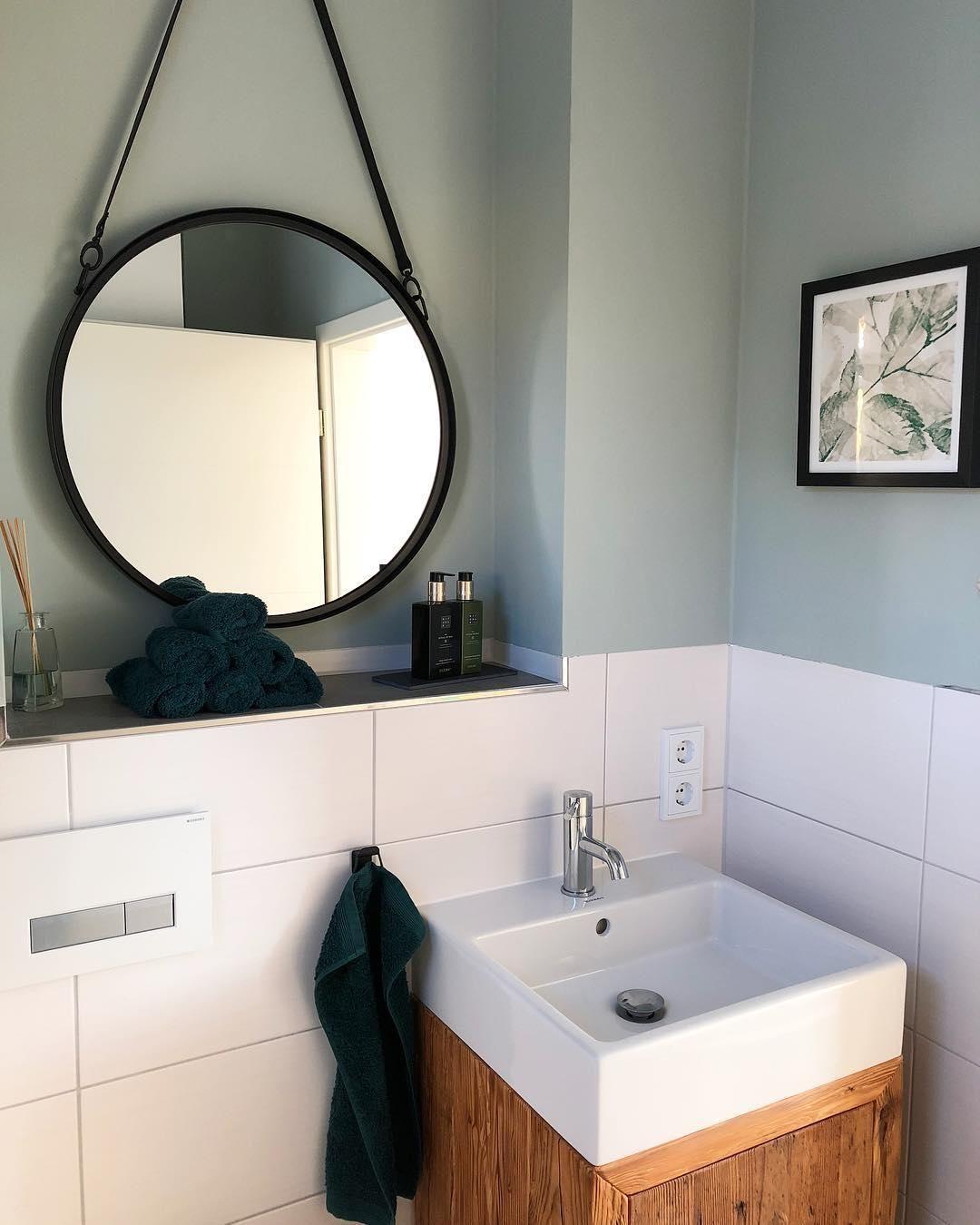 Wandspiegel Liz Wandspiegel Badezimmer Dekor Und Wandgestaltung Grun