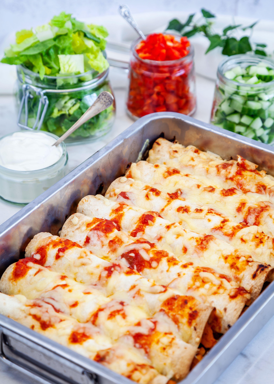Enchiladas Med Mifu Recept Enchiladas Recept Matlagning