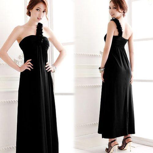 Womens Ladies Hot Sexy Ruffles Stylish Full Evening Gown Maxi Long Dresses 4400 | eBay
