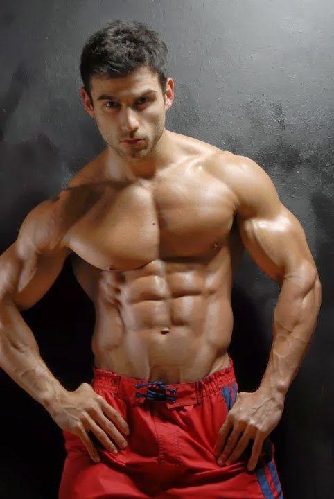 Muscle hunk jock