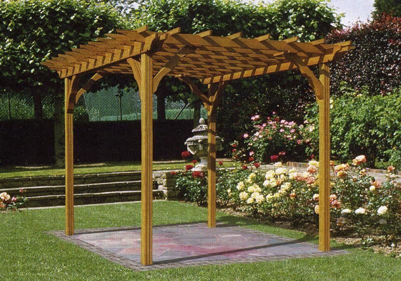 Pergola Designs the Various Types of Wooden Pergola Plans