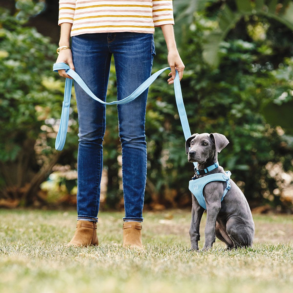 Shop our new Convertible Rope Leashes! Buttery soft, hand
