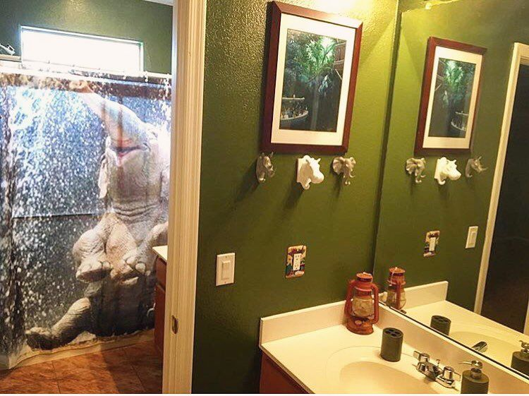 Looooooving This Jungle Cruise Themed Bathroom Thank You So Much Capnkels1 For
