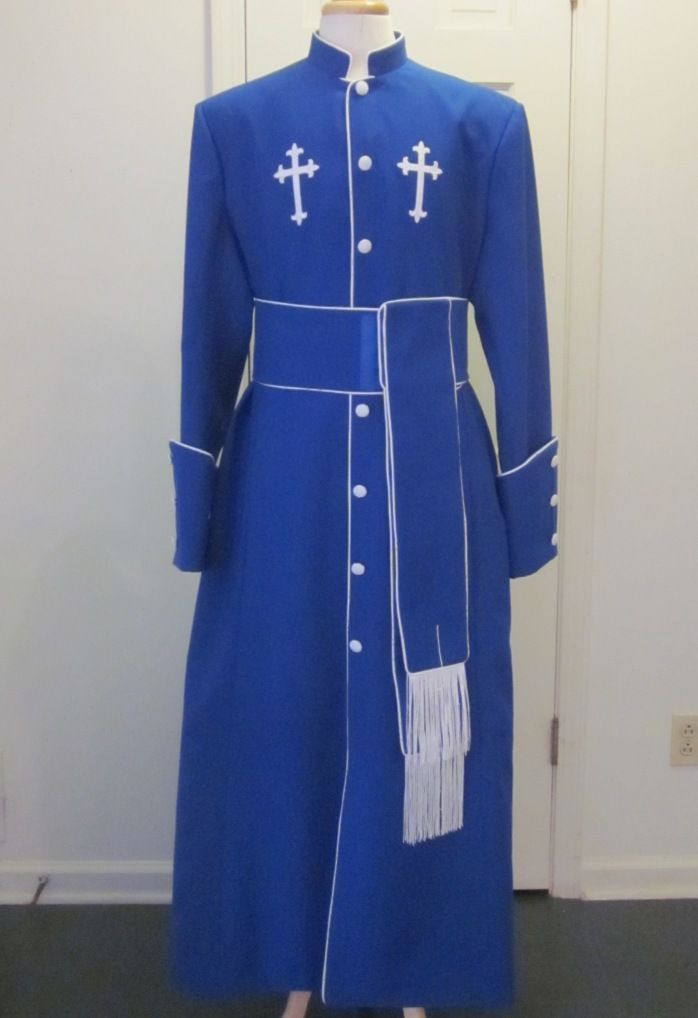 Blue Pulpit Robe
