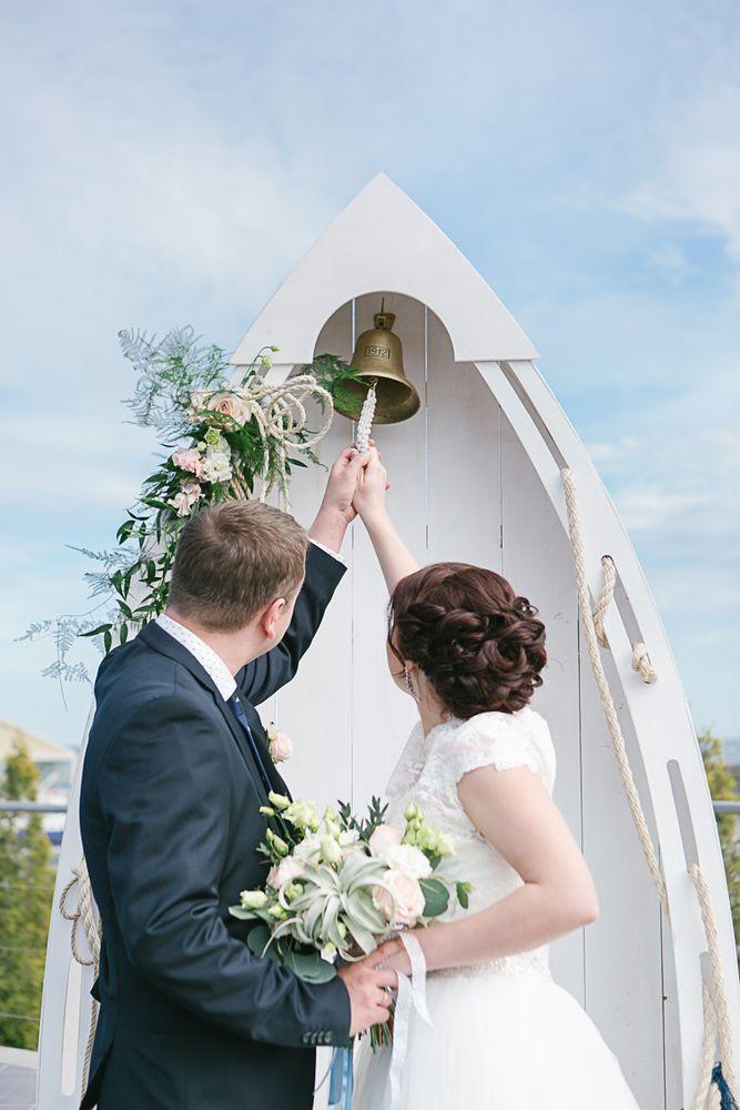 Свадебная арка - лодка
