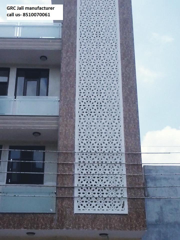 Front Elevation Noida : Grc jali manufacturer supplier in delhi gurgaon noida