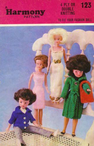 Free Sindy Doll Knitting Patterns : Fashion Sindy Fashion Dolls Clothes Knitting Pattern ...