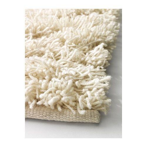 Wool Shag Rug From Ikea Cream Colored