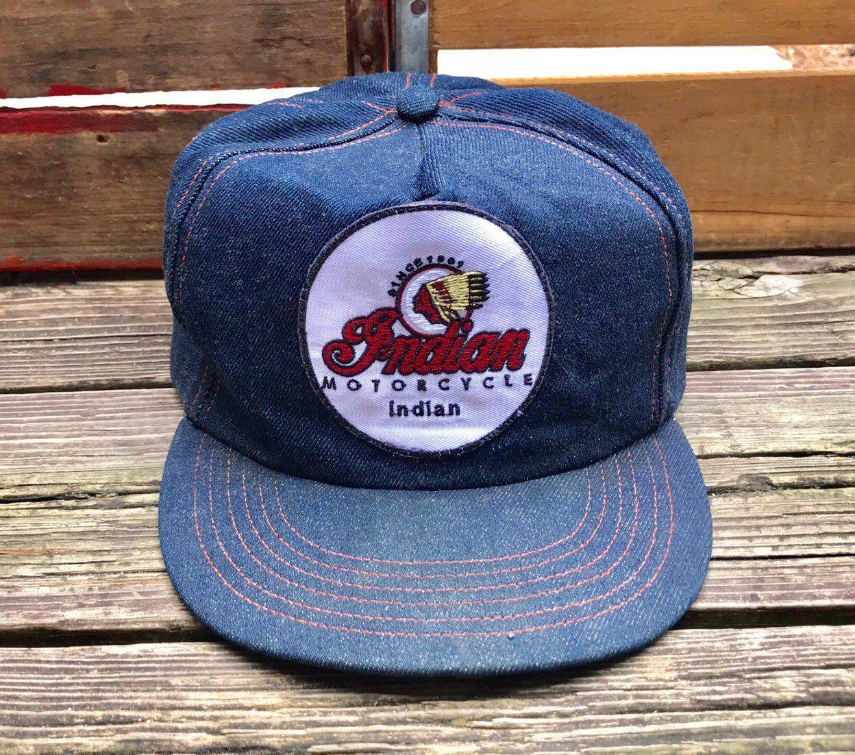 All Cotton Baseball Cap Indian-Motorcycles-logp Snapback Vintage Hat