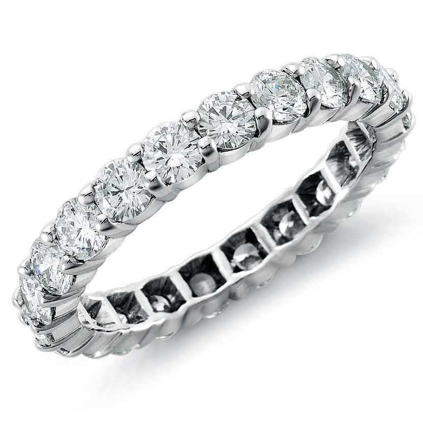 10 Pointer Diamonds Full Eternity Platinum Wedding Band For Women Sj Pto 250 Platinum Wedding Band Diamond Platinum Chain