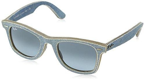 554fb88faec847 Ray-Ban Wayfarer 11644m 50 Occhiali Da Sole Rettangolari 50 Jeans  Azure blue Grey