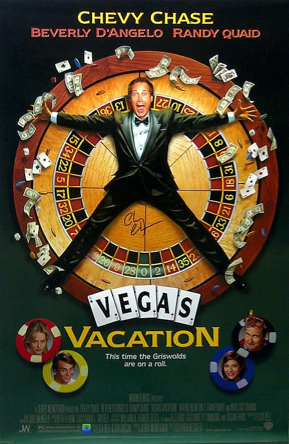 Vegas Vacation Movie: Movie Poster National Lampoons Vegas Vacation