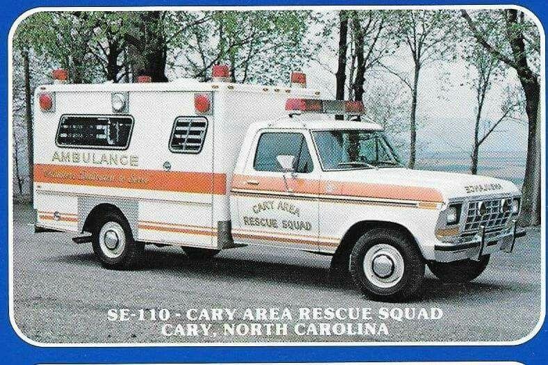 Cary north carolina ambulance fire trucks fire rescue