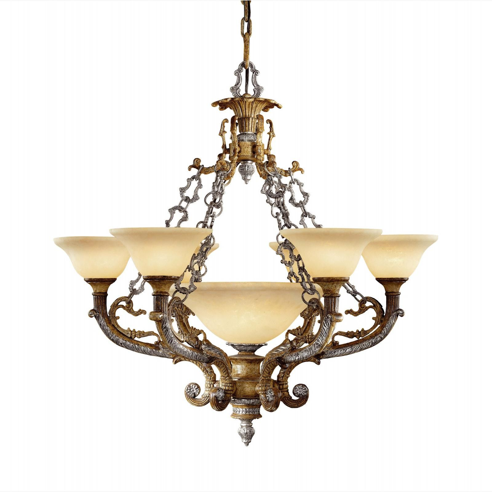 Tuscan chandelier OLD WORLD Light Fixtures