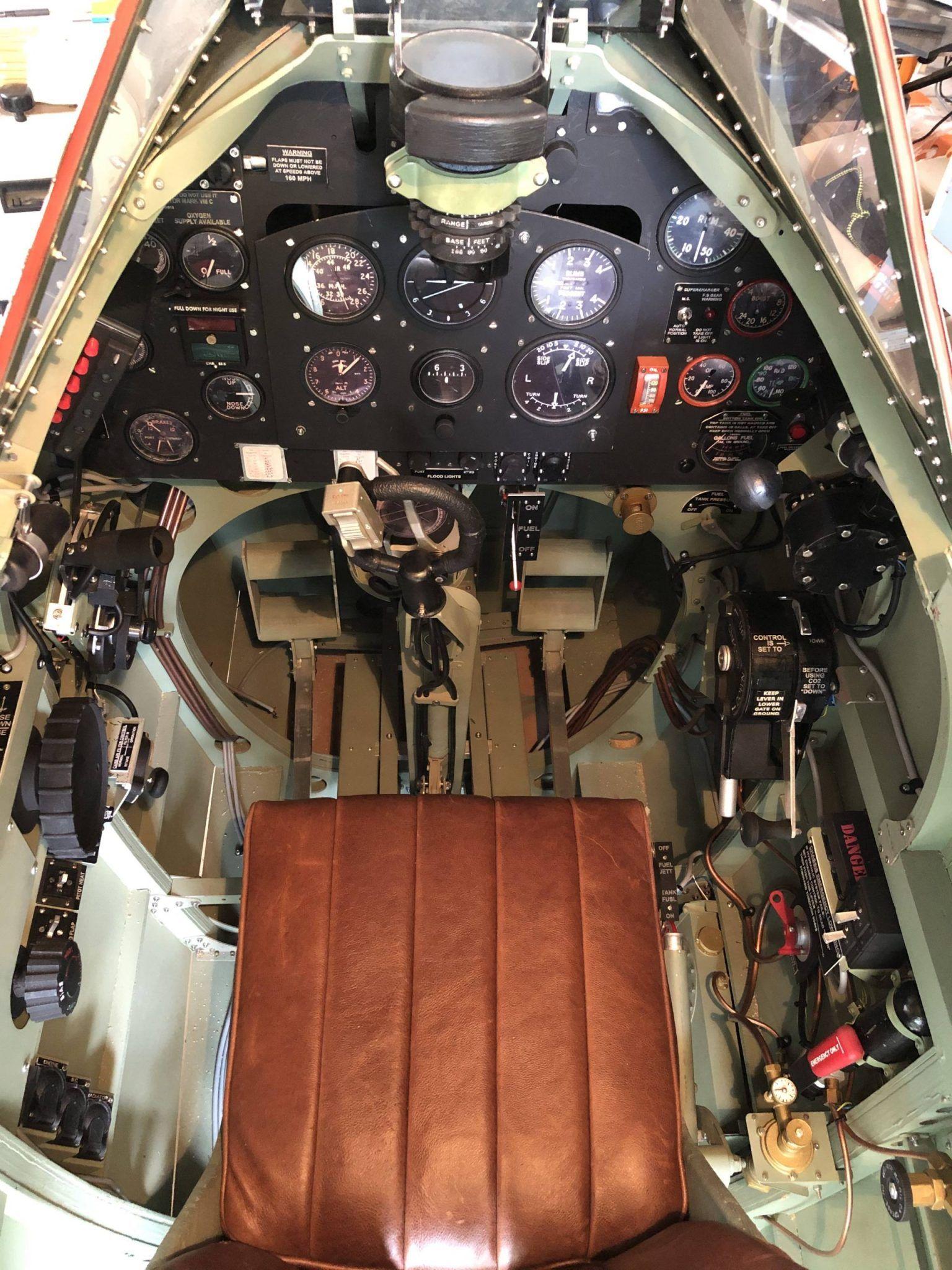 Hfs Spitfire Mk Ix Build Licence And Plan Set Cockpit Aircraft Design Building
