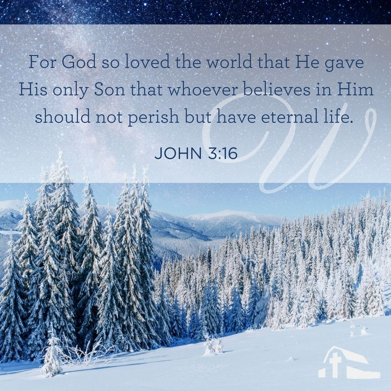 ABC\'s of Christmas - W   John 3:16   ABC\'s of Christmas Scripture ...