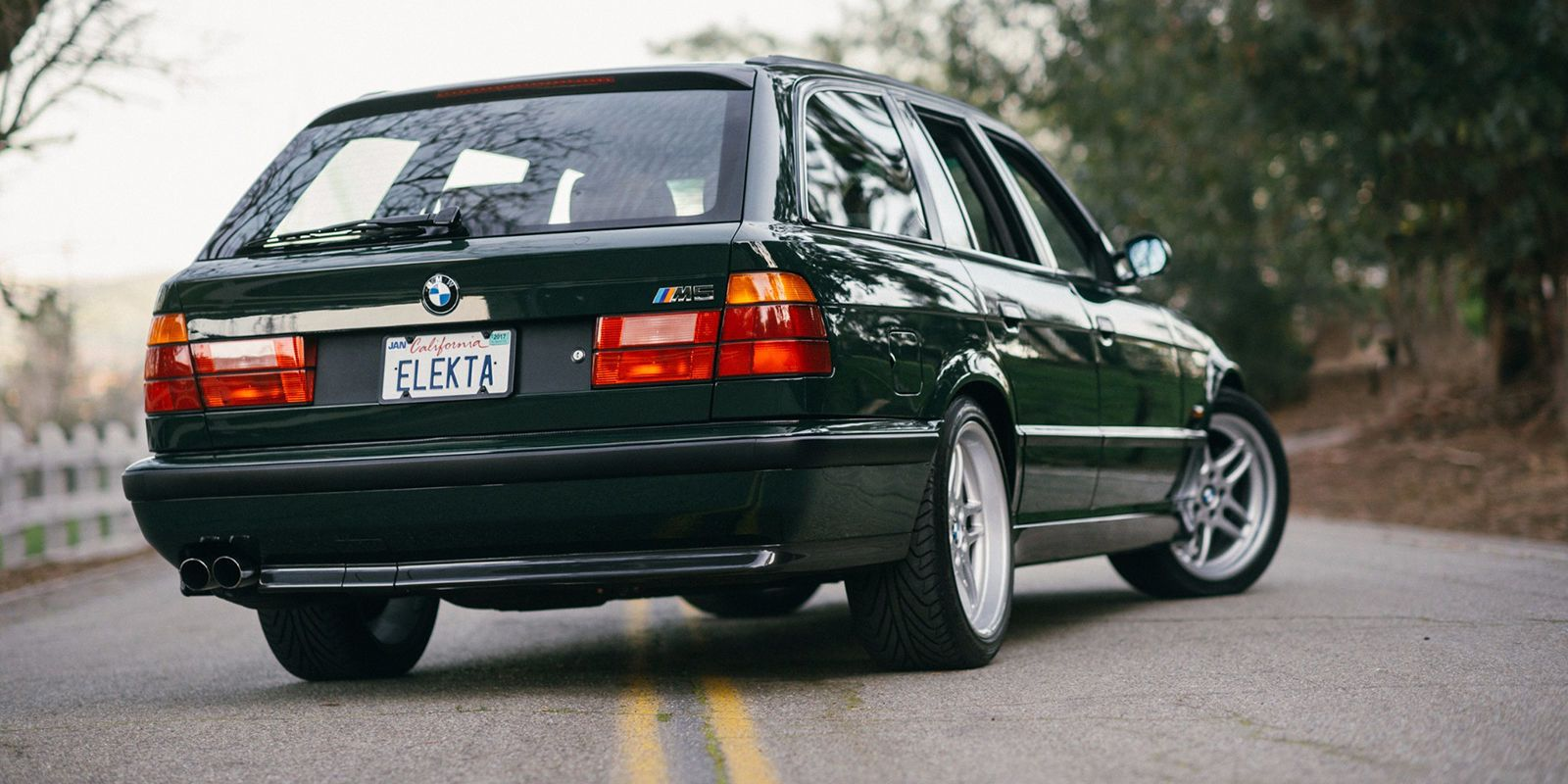 This Amazing Bmw M5 Wagon Just Sold For 120 000 Bmw M5 Touring