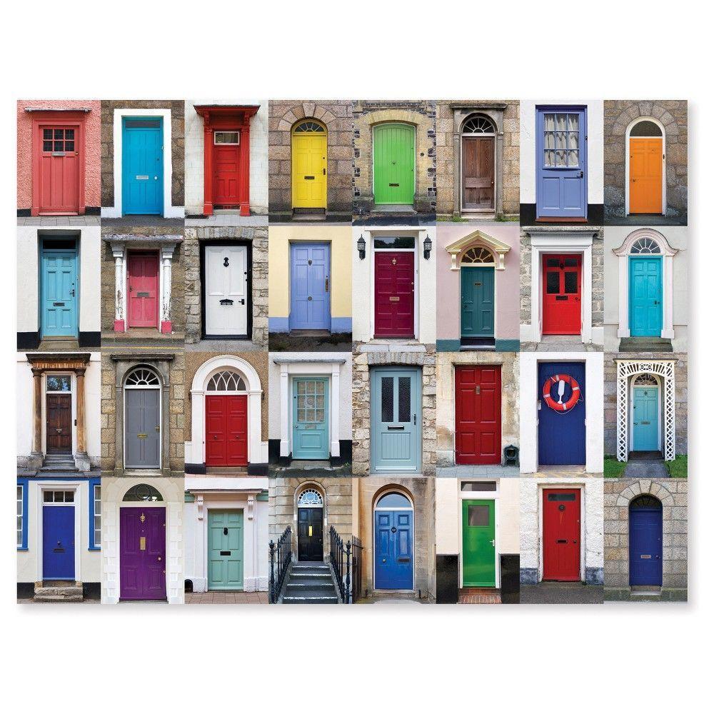 Melissa And Doug Knock Knock Doorways Puzzle 1000pc Painted Front Doors Front Door Colors Painted Doors