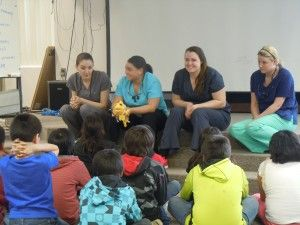 Tunxis Dental Hygiene Program and Lakota Tribe Service Learning/Mission Trip   Presentation at Eagle Butte Upper Elementary School