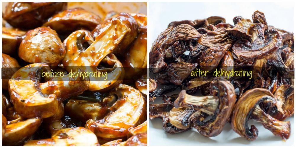 Dehydrated Mushroom Jerky Recipe Stuffed mushrooms