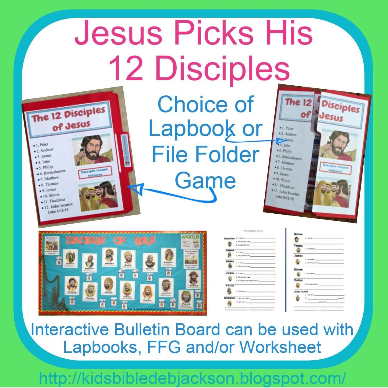 Jesus Picks His Disciples Free Lesson Printables And